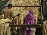 jute rope production